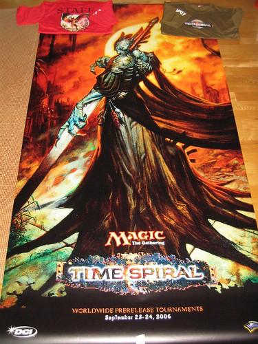 TSP Prerelease giant poster