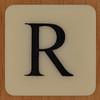 DOUBLE QUICK! letter R