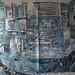 Shipbuilding, Ink on paper, 2017 300x200cm