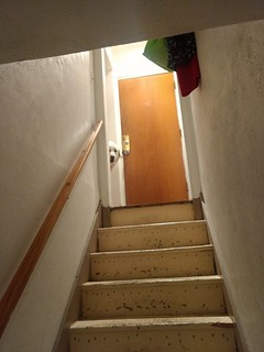 Basements are scary