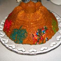 Carousel bundt cake, try 3