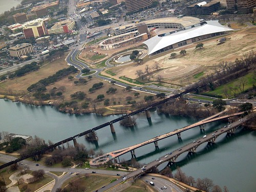 Austin Palmer Events Center Aerial View