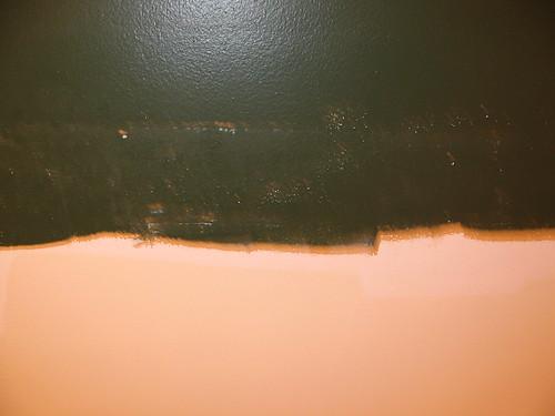 horrible green paint