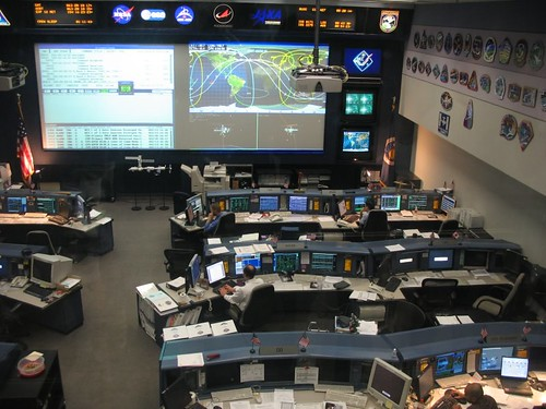 ISS Mission Control Center