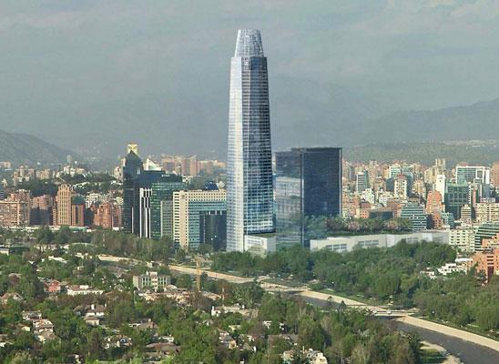 Los Edificios más altos de cada país de Sudamerica