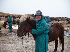 Jon and his Icelandic horse