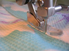 understitch facing