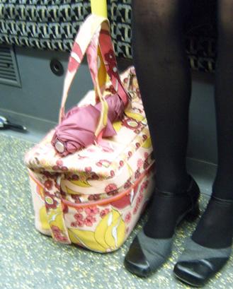 Pink Bag Pink Umbrella