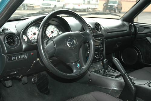 My Miata interior