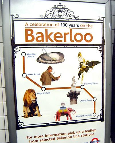 Bakerloo Line Centenary Poster