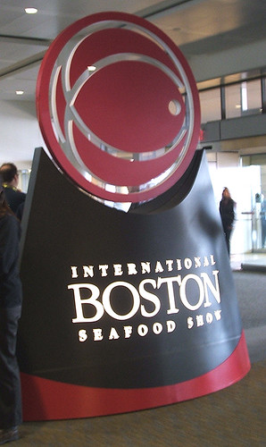 sign International Boston Seafood Show