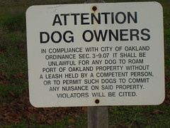 atn dog owners oakland