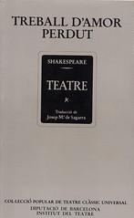 Shakespeare Treballs Amor Perdut