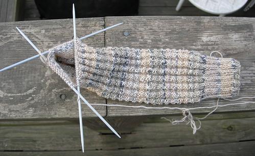 No, just a sock