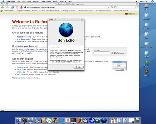 Firefox 2.0alpha1 alias BonEcho 2.0alpha1