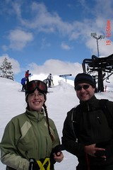 Steve and I at the top