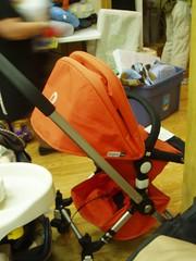 A DELUXE stroller