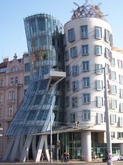 The 'Dancing Building', Prague