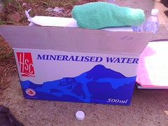 Mineralised Water! Powah!
