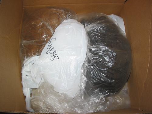Packing fibers