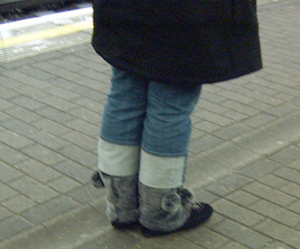 Furry Bobbly Uggs