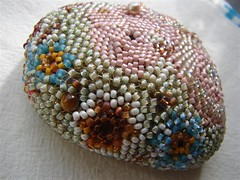 Beaded Crazy Quilt on Nature Series