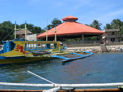 Cagban, main port point of disembarkation on Boracay island