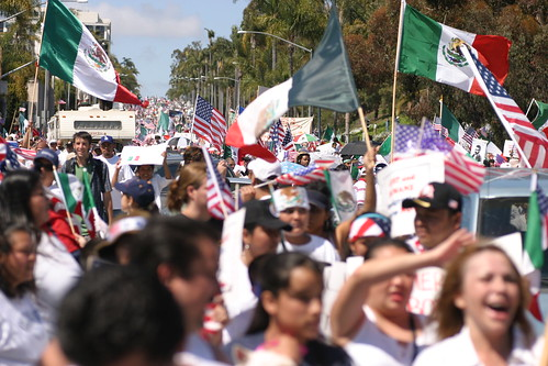 Immigration Rally in San Diego