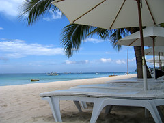 Boracay Regency beach beds