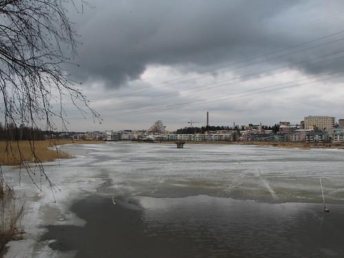 View over Pikku Huopalahti, Helsinki