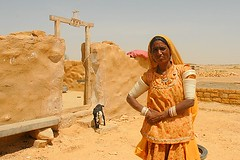 Village Lady, Jaisalmer, Rajasthan, India Captured April 12, 2006.
