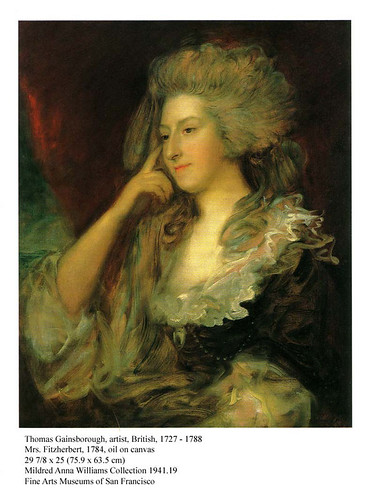 Gainsborough, Fitzherbert