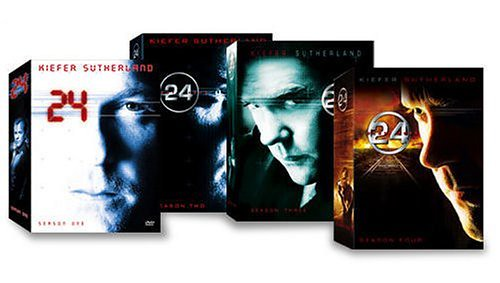DVD 24 Seaon 1-4