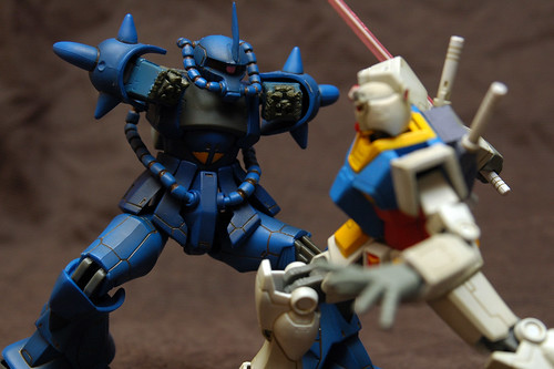 [Extended Mobile Suit In Action!!] RX-78-2 GUNDAM