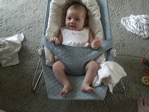 Emma as a baby