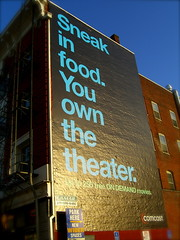 Sneak in food. You own the theater.