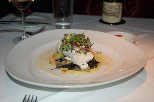 Milk Poached Alaskan Halibut
