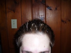Less hair