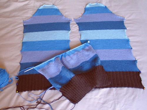 blue hues sleeves