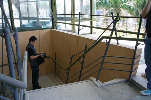 鋼筋造型扶手