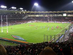 Stade Toulousain möter Stade Francais (Paris) i Rugby