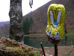 Påskchokladjakt i Pyreneerna