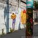 Graffiti de Os Gêmeos no Bairro do Cambuci