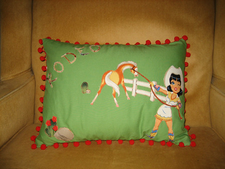 Rodeo Pillow Front