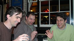 Don, Ralf and Thore at The Eagle