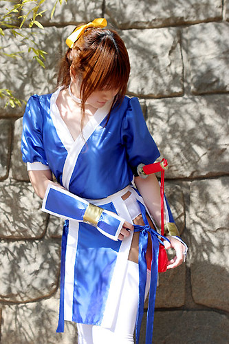 Ah, this Kasumi cosplayer is so adorable, yeah?
