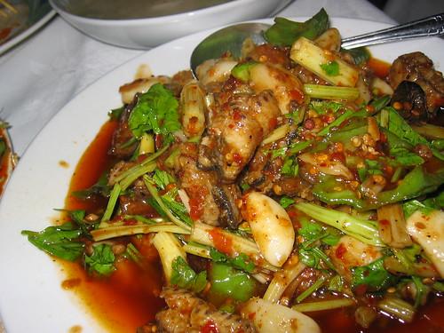 Eel in Chilli Oil