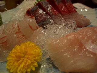 20060310 いっぱち寿司 白身刺身