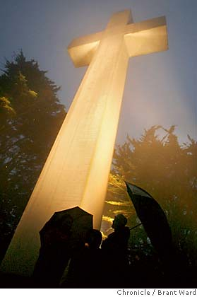 Mt Davidson cross, San Francisco (yeah really and on city property too)