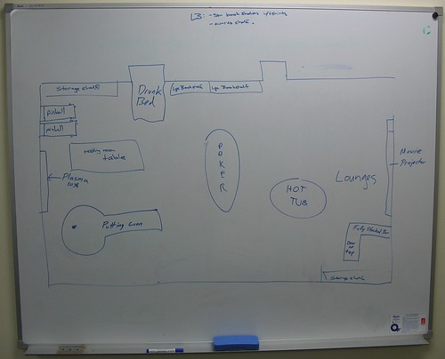 Atlassian Sydney Staff Room - The Plan